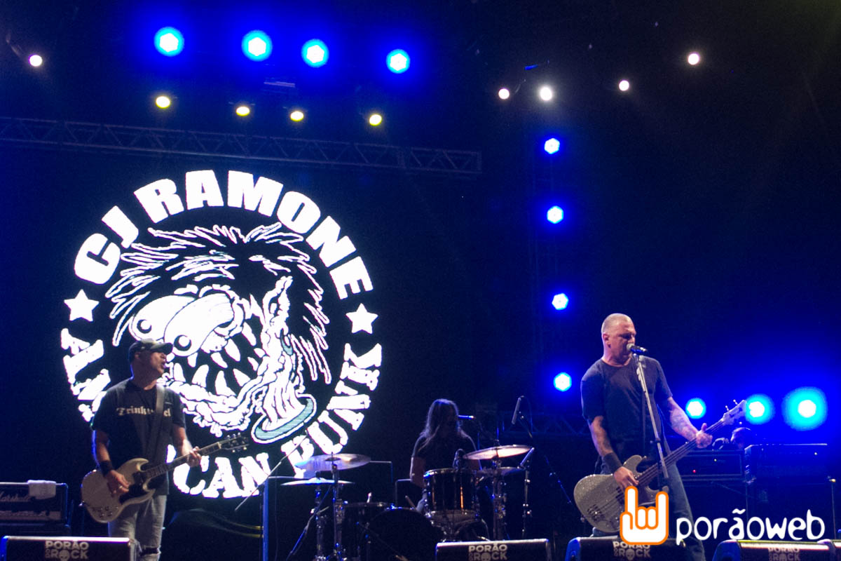 Porão do Rock 2014 - CJ Ramone